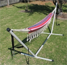 OUTBOUND Single Aztec Hammock-hammocks-and-stretchers-Mitchells Adventure