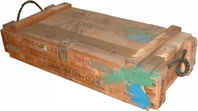 C226 81mm MORTAR WOODEN AMMO BOX-boxes-Mitchells Adventure