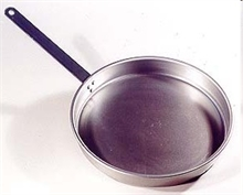 12in SPUN STEEL FRYPAN-to-cook-in-Mitchells Adventure