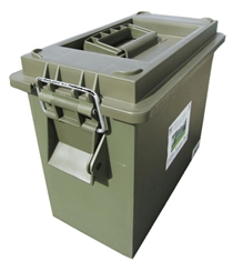 PLASTIC UTILITY AMMO BOX TALL-boxes-Mitchells Adventure