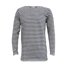RUSSIAN STRIPED NAVY SHIRT (TELNYASHKA)-t-shirts-and-singlets-Mitchells Adventure