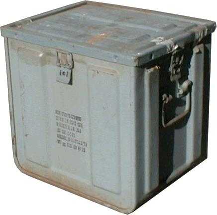 AMMUNITION BOX- BOMB FUSE - MILITARY SURPLUS   MILITARY-Boxes ... e4306969a44