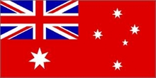 AUSTRALIAN RED ENSIGN FLAG 5x3-flags-and-patches-Mitchells Adventure
