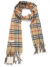 FAUX PASHMINA BURBERRY SCARF-winter-Mitchells Adventure
