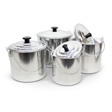 4PCE ALUMINIUM BILLY SET-to-cook-in-Mitchells Adventure