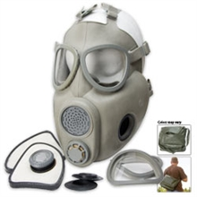 MILITARY SURPLUS Czech M10m Gas Mask-gas-masks-Mitchells Adventure