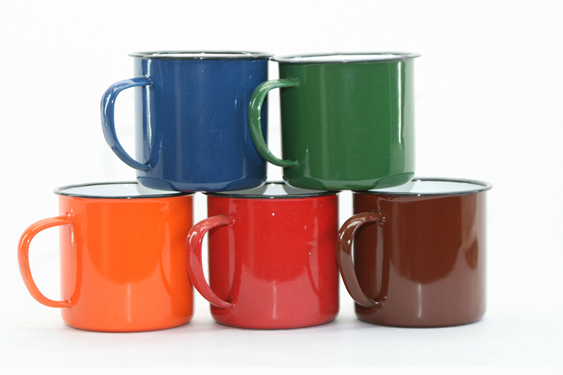 image relating to Printable Mugs Wholesale named OUTBOUND 9cm Tooth Mug Diverse Hues
