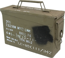 M19A1 - 30cal AMMO BOX-boxes-Mitchells Adventure