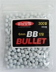 Plastic Bb Pellets 6mm Bag Of 300 (0.12gm)-sling-shots-Mitchells Adventure