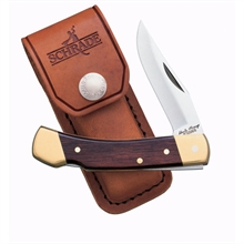 UNCLE HENRY's Lockback- Smokey- Rosewood Handle- Leath-uncle-henry's-Mitchells Adventure