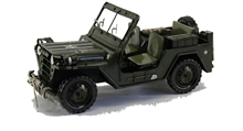 MODEL WILLYS JEEP-collectable-Mitchells Adventure