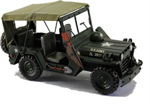 MODEL U.S. ARMY JEEP-collectable-Mitchells Adventure