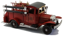 MODEL VINTAGE FIRE TRUCK-collectable-Mitchells Adventure