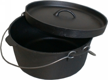9Qrt CAMP OVEN LIP LID-to-cook-in-Mitchells Adventure