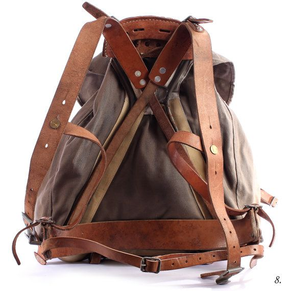 Military Surplus Swedish Wwii M1939 Alpine Rucksack