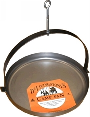 DR LIVINGSTON BBQ Pan Camper 41cm-camping-pots-and-pans-Mitchells Adventure