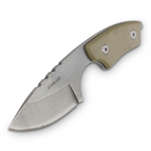 DROP POINT FAT BOY NECK KNIFE 120mm-for-cutting-Mitchells Adventure