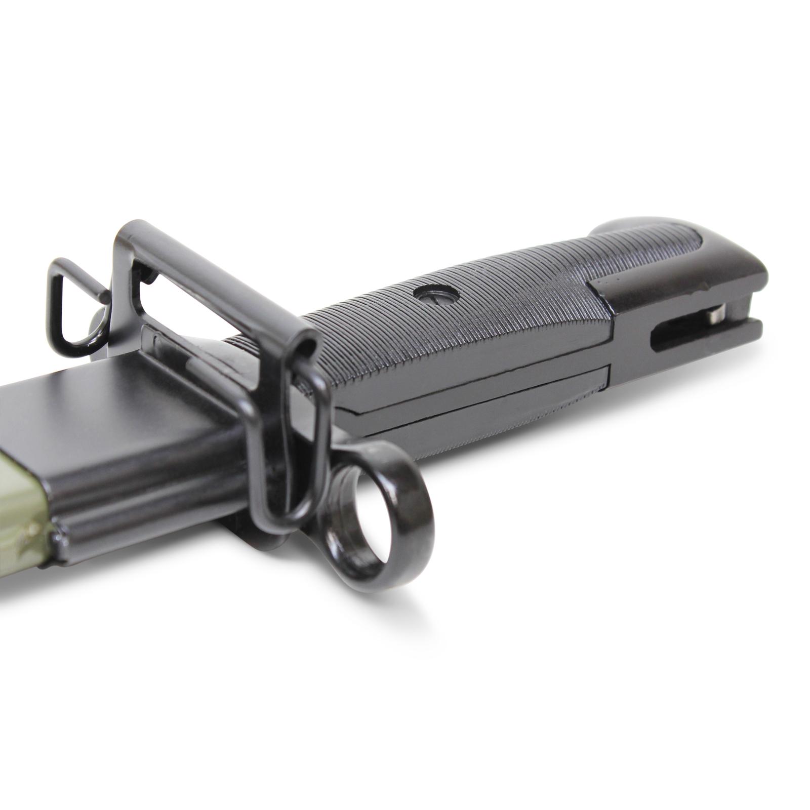REPLICA 16in U S  M1 Garand Bayonet W Scabbard