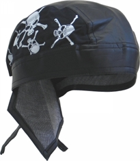 BANDANNA CAP DLX SKULL AND BONES-summer-Mitchells Adventure