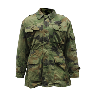 MILITARY SURPLUS Serbian Camo Parka With Liner