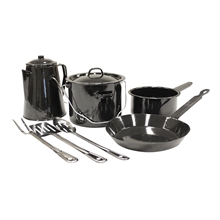 ENAMEL COOKSET-to-cook-in-Mitchells Adventure