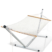 OUTBOUND Single Rope Hammock Cotton-hammocks-and-stretchers-Mitchells Adventure