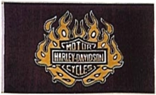 HARLEY FLAG 5x3-flags-and-patches-Mitchells Adventure