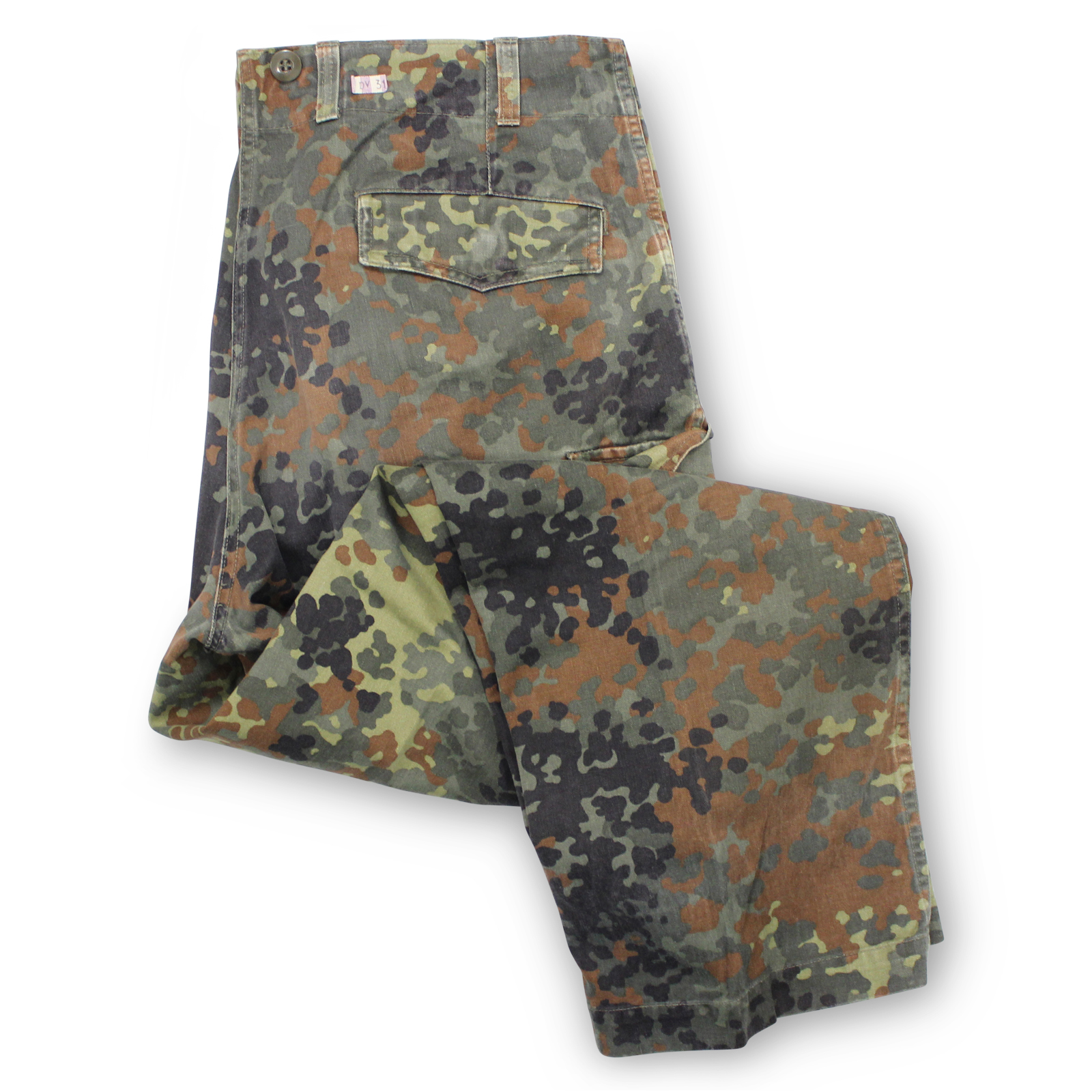 53fc07439d74c MILITARY SURPLUS German Flecktarn Camo Pants - MILITARY SURPLUS USED ...