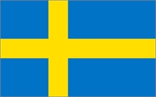 OUTBOUND Flag Of Sweden 5x3-flags-and-patches-Mitchells Adventure