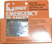SPACE Original Emergency Blanket-blankets-Mitchells Adventure