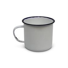 OUTBOUND 8cm Enamel Mug White-outbound-Mitchells Adventure