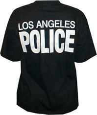 T-SHIRT LAPD-t-shirts-and-singlets-Mitchells Adventure