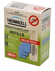 48HR REFILLS FOR THERMACELL 4 PK-mosquito-Mitchells Adventure