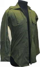 MILITARY SURPLUS Australian Greens Long Sleeve Shirt-shirts-Mitchells Adventure