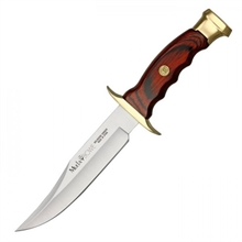 MUELA Bowie 16 - Coral Wood Handle-for-cutting-Mitchells Adventure