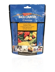BACK COUNTRY instant Rice-to-eat-Mitchells Adventure