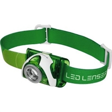 SEO 3 GREEN HEADLAMP - CLAM PACK-headlamps-Mitchells Adventure