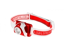 SEO 5 HEADLAMP RED - CLAM PACK-headlamps-Mitchells Adventure