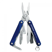 LEATHERMAN Squirt Ps4 - Blue-multitools-Mitchells Adventure