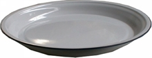 40cm ROUND WHITE TRAY-to-eat-with-Mitchells Adventure