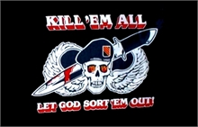 KILL EM ALL FLAG 5x3-flags-and-patches-Mitchells Adventure