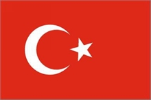 FLAG of TURKEY 5x3-flags-and-patches-Mitchells Adventure