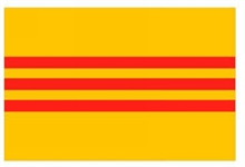 OUTBOUND Flag Of South Vietnam 5x3-flags-and-patches-Mitchells Adventure