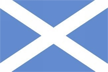 FLAG of SCOTLAND (ST ANDREWS)-flags-and-patches-Mitchells Adventure