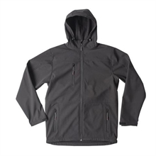 SOFT SHELL HOODIE JACKET-rainwear-Mitchells Adventure