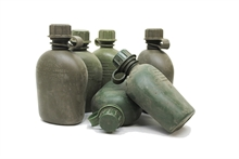 MILITARY SURPLUS Well USed 1Qrt Poly Bottle-water-Mitchells Adventure