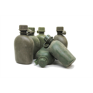 MILITARY SURPLUS Well USed 1Qrt Poly Bottle