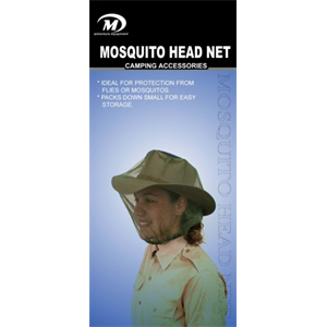 Mosquito Head Net Green