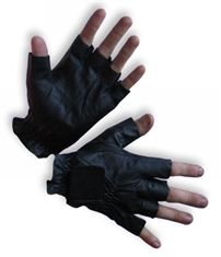FINGERLESS LEATHER GLOVE-gloves-Mitchells Adventure
