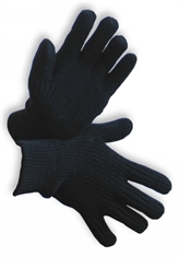 WOOL GLOVE BLACK-gloves-Mitchells Adventure